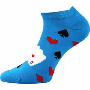 Boma PETTY 010 modrá 43 - 46 - Nízke ponožky