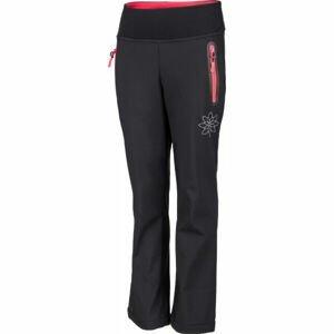 Lewro VERONA  140-146 - Dievčenské softshellové nohavice