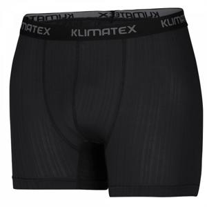 Klimatex BAX čierna M - Pánske funkčné boxerky