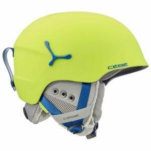 Cebe SUSPENSE DELUXE zelená (54 - 56) - Detská lyžiarska prilba