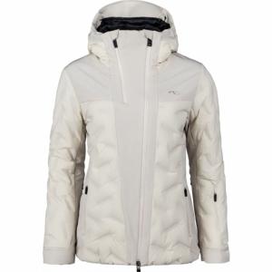 Kjus WOMEN ELA JACKET biela 38 - Dámska lyžiarska bunda