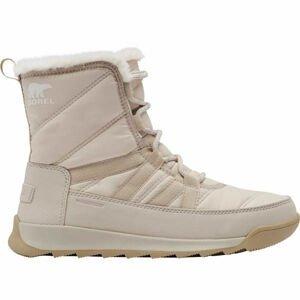 Sorel WHITNEY II SHORT LACE FU sivá 6.5 - Dámska zimná obuv