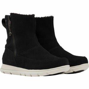 Sorel EXPLORER  ZIP čierna 6.5 - Dámska zimná obuv