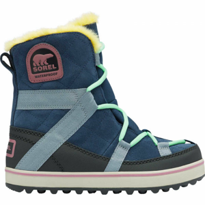 Sorel GLACY EXPLORER SHORTIE modrá 7.5 - Dámska zimná obuv