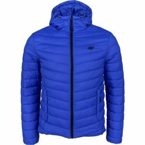 4F MEN´S JACKET tmavo modrá L - Pánska zimná bunda