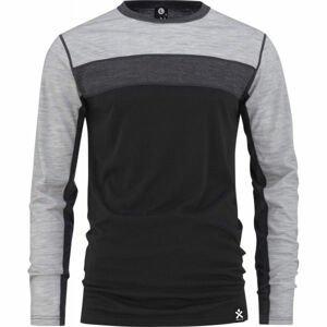 Bula RETRO WOOL CREW  XL - Vlnené funkčné tričko