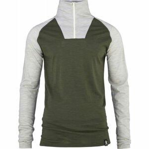 Bula RETRO WOOL HZ  L - Pánske tričko s dlhým rukávom