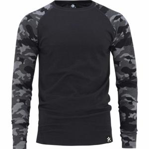 Bula CAMO MERINO WOOL CREW  XL - Pánske tričko