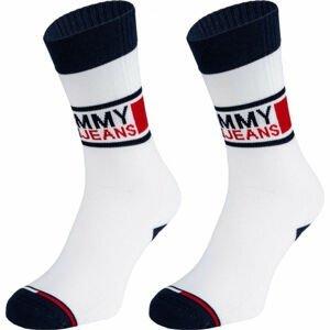 Tommy Hilfiger UNISEX TOMMY JEANS SOCK 2P  43 - 46 - Unisex ponožky