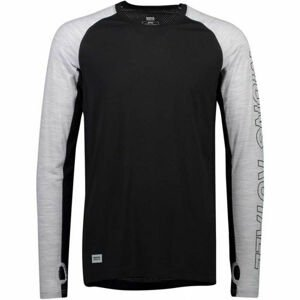 MONS ROYALE TEMPLE TECH LS  M - Pánske funkčné tričko z Merina