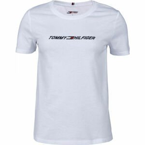 Tommy Hilfiger REGULAR C-NK GRAPHIC TEE SS  XS - Dámske tričko