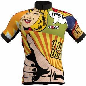 Rosti POP ART  3XL - Pánsky cyklistický dres
