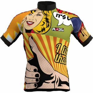 Rosti POP ART  XL - Pánsky cyklistický dres