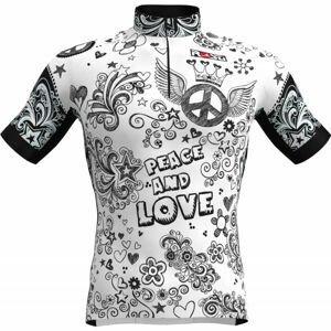 Rosti PACE AND LOVE  2XL - Pánsky cyklistický dres