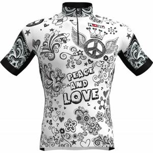 Rosti PACE AND LOVE  XL - Pánsky cyklistický dres