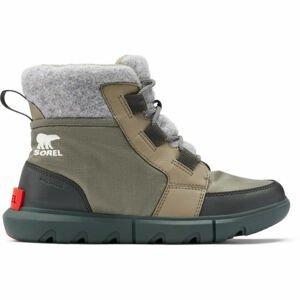 Sorel SOREL EXPLORER II CARNIVAL FELT  8 - Dámska zimná obuv
