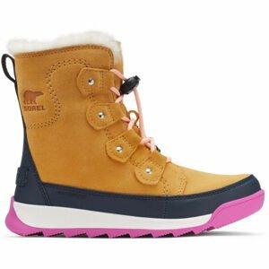 Sorel YOUTH WHITNEY II JOAN LACE  4.5 - Detská zimná  obuv