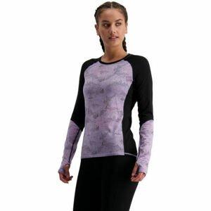 MONS ROYALE BELLA TECH LS  L - Dámske funkčné tričko z merino vlny