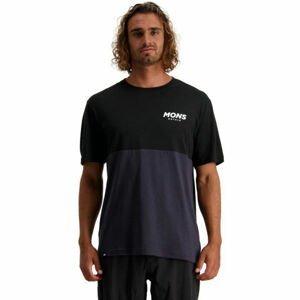 MONS ROYALE TARN FREERIDE  2XL - Pánske funkčné cyklistické tričko