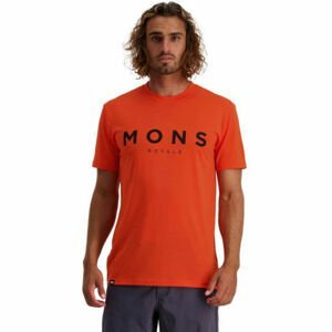 MONS ROYALE ICON  XL - Pánske funkčné tričko z Merina
