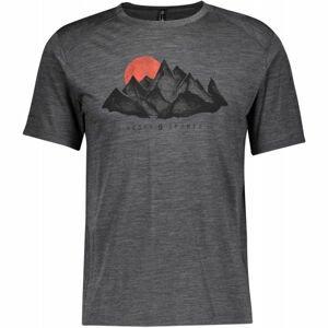 Scott DEFINED MERINO  XL - Pánske tričko