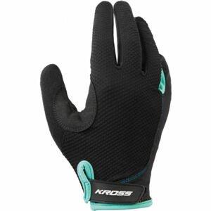 Kross FLOW FEMI LINE LF  M - Dámske cyklistické rukavice