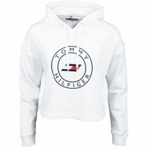 Tommy Hilfiger RELAXED ROUND GRAPHIC HOODIE LS  L - Dámska mikina