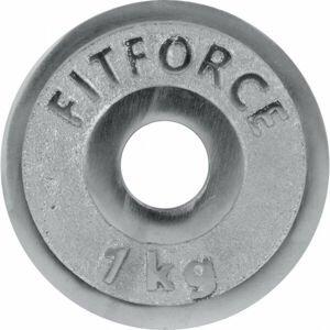 Fitforce NAKLADACÍ KOTÚČ 1KG CHRÓM 30MM  0,75 КГ - Nakladací kotúč