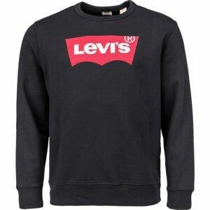 Levi's GRAPHIC CREW B LOGO SSNL CREW MINERAL BL  L - Pánska mikina