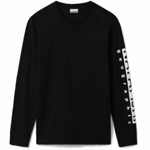 Napapijri SADAS LS  L - Pánske tričko