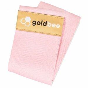 GOLDBEE BEBOOTY CANDY PINK  M - Odporová posilňovacia guma