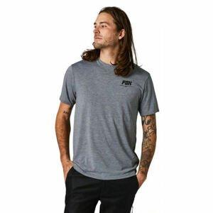 Fox TREAD LIGHTLY SS TECH  L - Pánske tričko
