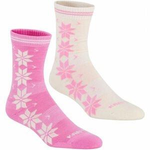 KARI TRAA VINST WOOL SOCK 2PK  36/38 - Dámske vlnené ponožky