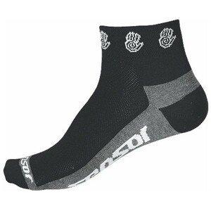 Sensor RACE LITE čierna 43 - 46 - Cyklistické ponožky