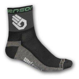 Sensor RACE LITE RUKA čierna 6-8 - Cyklistické ponožky