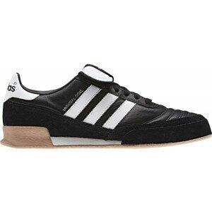 adidas MUNDIAL GOAL LEATHER čierna 9.5 - Pánska halová obuv