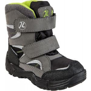Junior League SIGYN sivá 28 - Detská zimná obuv