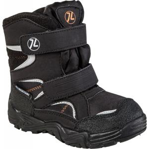 Junior League SIGYN čierna 25 - Detská zimná obuv