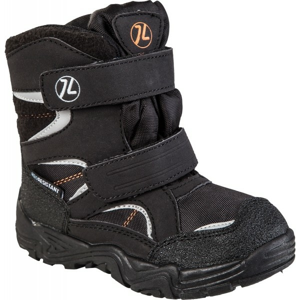 Junior League SIGYN čierna 33 - Detská zimná obuv