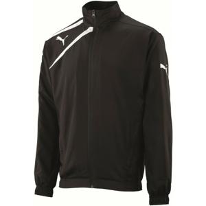 Puma SPIRIT WOvoN JACKET JR čierna 128 - Detská športová bunda
