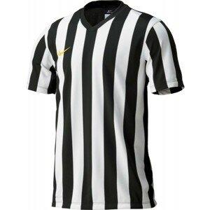 Nike STRIPED DIVISION JERSEY YOUTH čierna XL - Detský futbalový dres