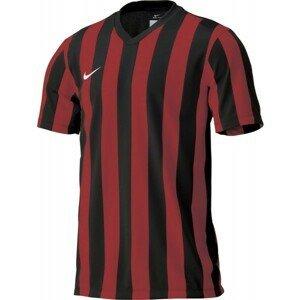 Nike STRIPED DIVISION JERSEY YOUTH tmavo sivá XS - Detský futbalový dres