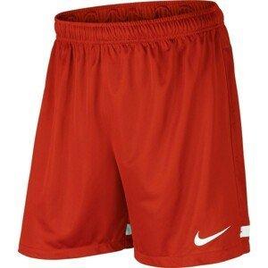 Nike DRI-FIT KNIT SHORT II červená M - Pánske futbalové trenky