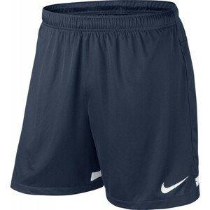 Nike DRI-FIT KNIT SHORT II YOUTH tmavo modrá S - Detské futbalové trenírky