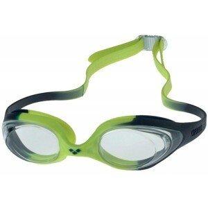 Arena SPIDER JR zelená NS - Detské plavecké okuliare