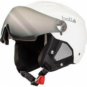 Bolle BACKLINE VISOR +1 biela (56 - 58) - Lyžiarska prilba