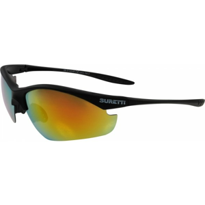 Suretti S14054 čierna NS - Športové slnečné okuliare