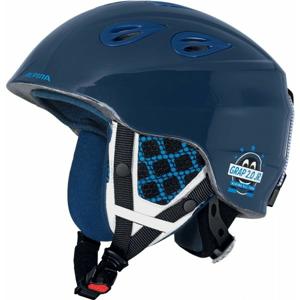 Alpina Sports GRAP 2.0 JR modrá (51 - 54) - Detská lyžiarska prilba