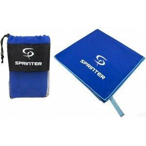 Sprinter UTERÁK Z MIKROVLÁKNA 70x140CM modrá NS - Športový uterák z mikrovlákna