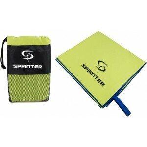 Sprinter UTERÁK Z MIKROVLÁKNA 70x140CM zelená NS - Športový uterák z mikrovlákna